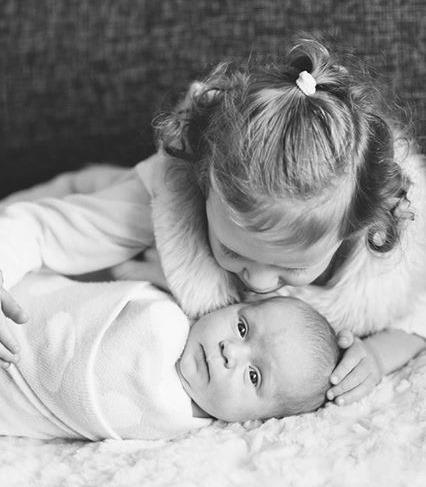 Kayla Born 24th June 2015 and sister Leela born 30th Nov 2012