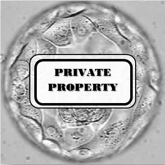 embryo private property