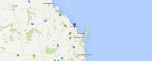 bundaberg on a map