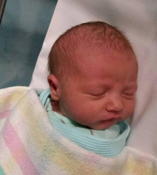 Joshua - born 25th May 2015 in Bundy