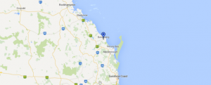 bundaberg on a map