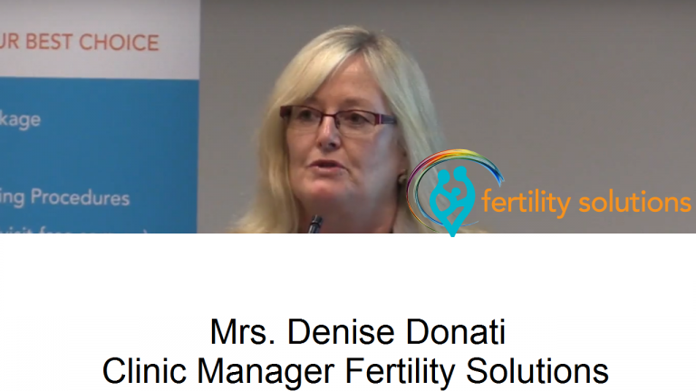 Mrs Denise Donati, our Fertility Solutions Clinic Manager