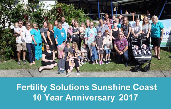 Fertility Solutions Sunshine Coast Ten Year Anniversary