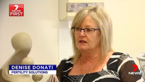 IVF Layby Channel 7 Report - Fertility Solutions Staff