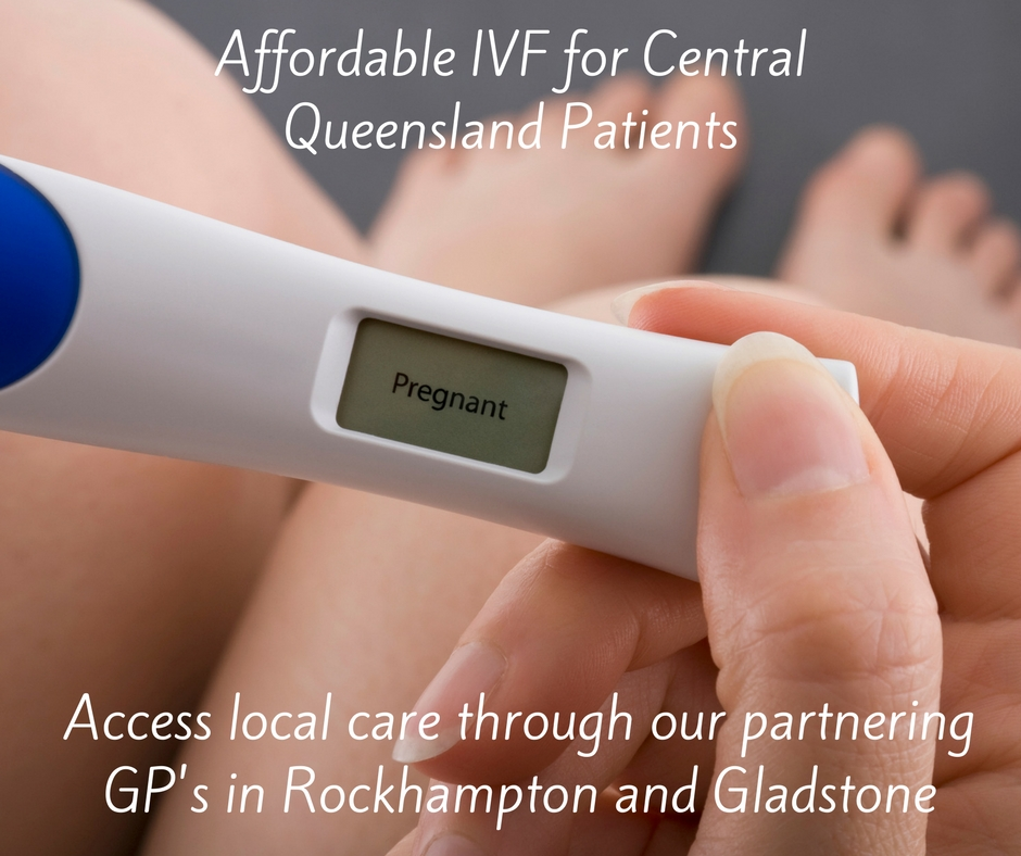 IVF is affordable - image of a positive pregnancy test
